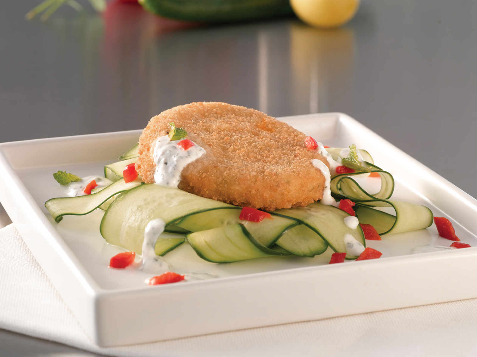 SEA LEGS® Seafood Crab Cakes-Lightly Breaded 3 oz (1/10 lb) 499464