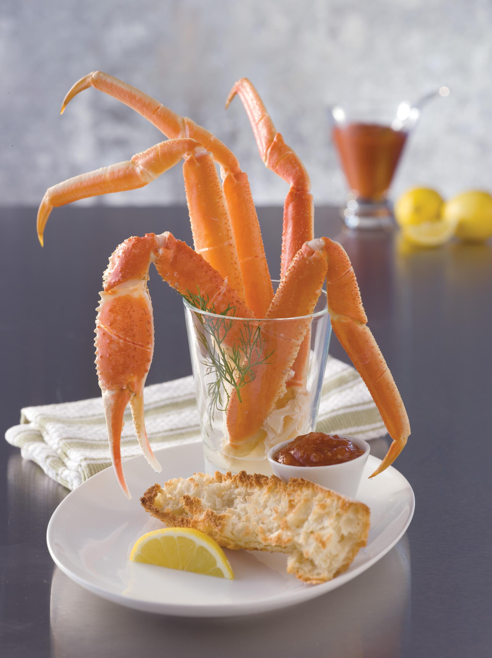 Snow Crab Sections B Grade (1/45 lb) 477435