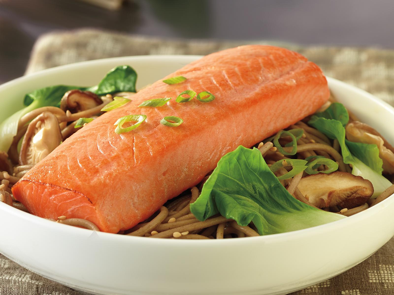 Alaskan Sockeye Salmon Loins 5oz (1/10 lb) 421412