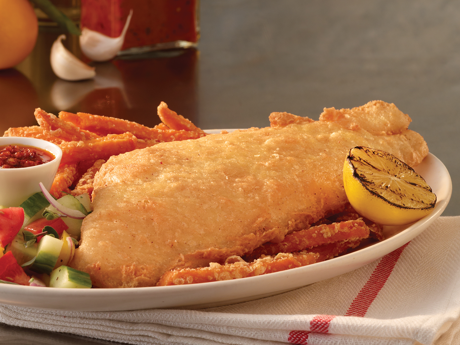 PubHouse® Golden Ale Beer Battered Haddock 10oz (1-10 lb) 418452