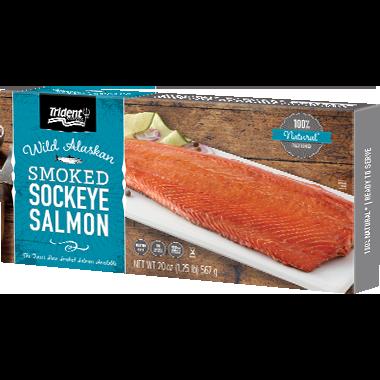 Trident Seafoods® Smoked Sockeye Salmon 20 oz