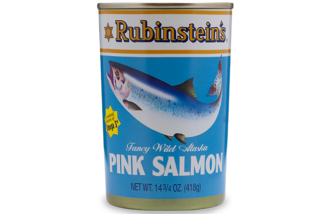 Rubinstein's® Canned Pink Salmon 24/14.75 oz