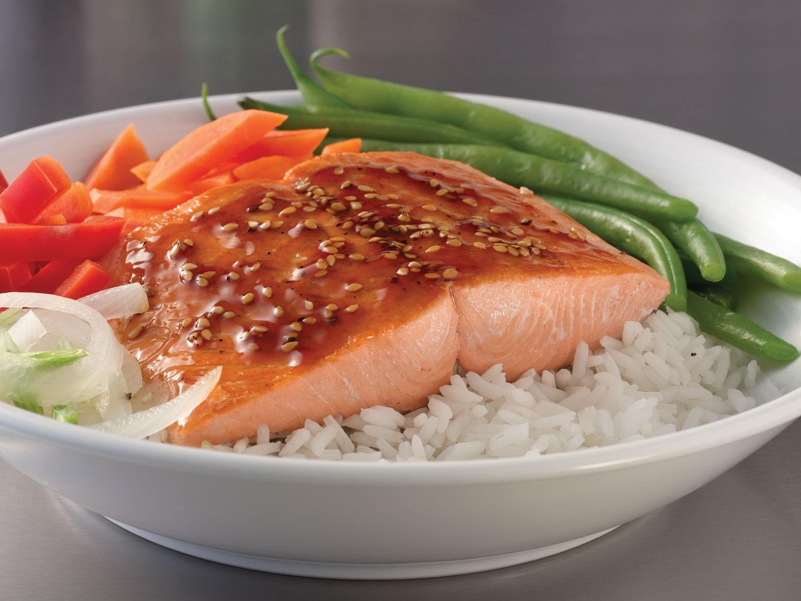 Coho Salmon Portions 8 oz Skinless, Pin Bone Out (1/10 lb) 475343