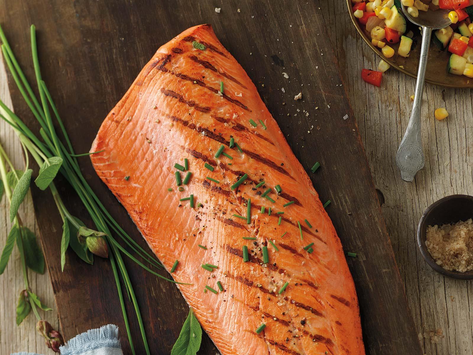 Silver Lining™ Alaskan Sockeye Salmon Sides 1-2 lb, PBO, VP 423774