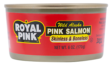 Royal Pink® Pink Salmon Skinless & Boneless 24/6 oz