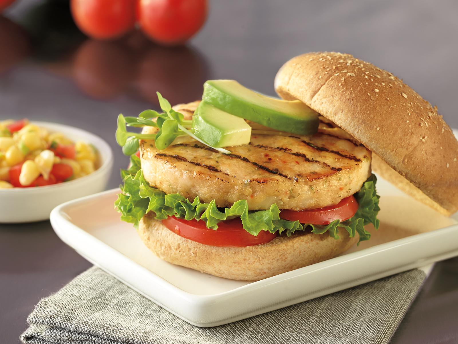 Wild Alaska Pollock Burger 4 oz IQF 421800