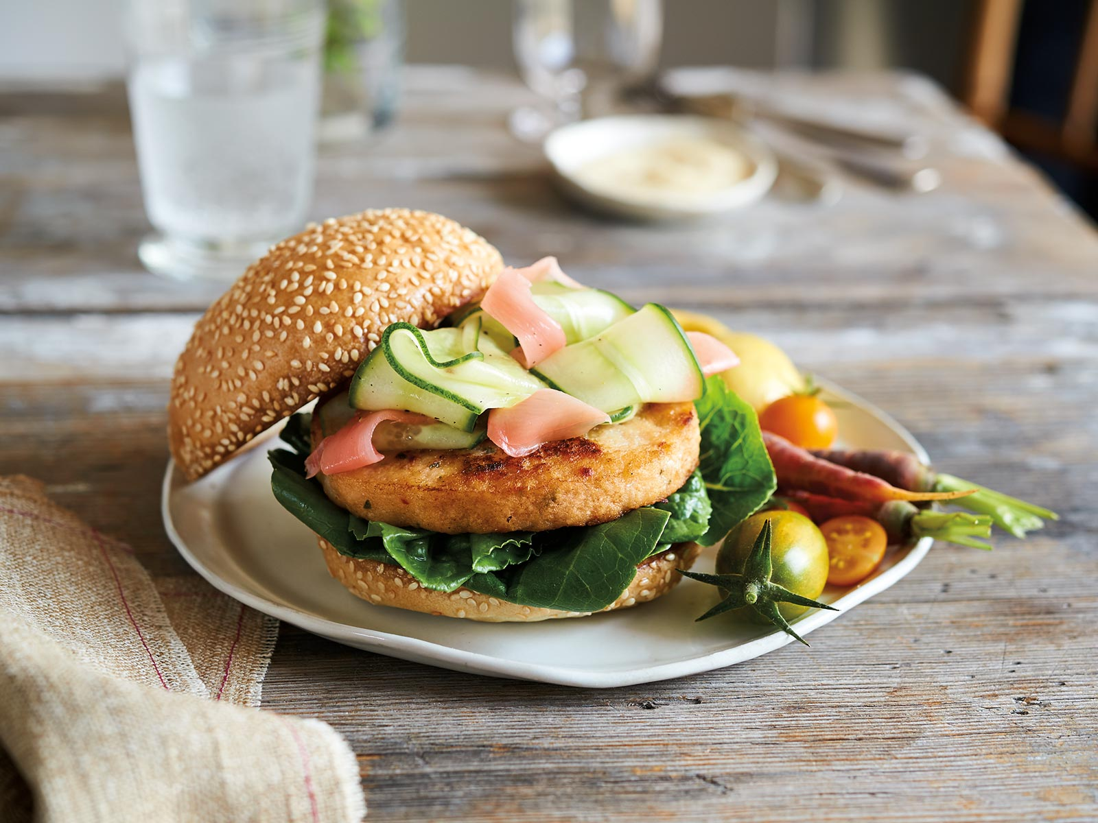 Wild Alaska Pollock Burger with Miso