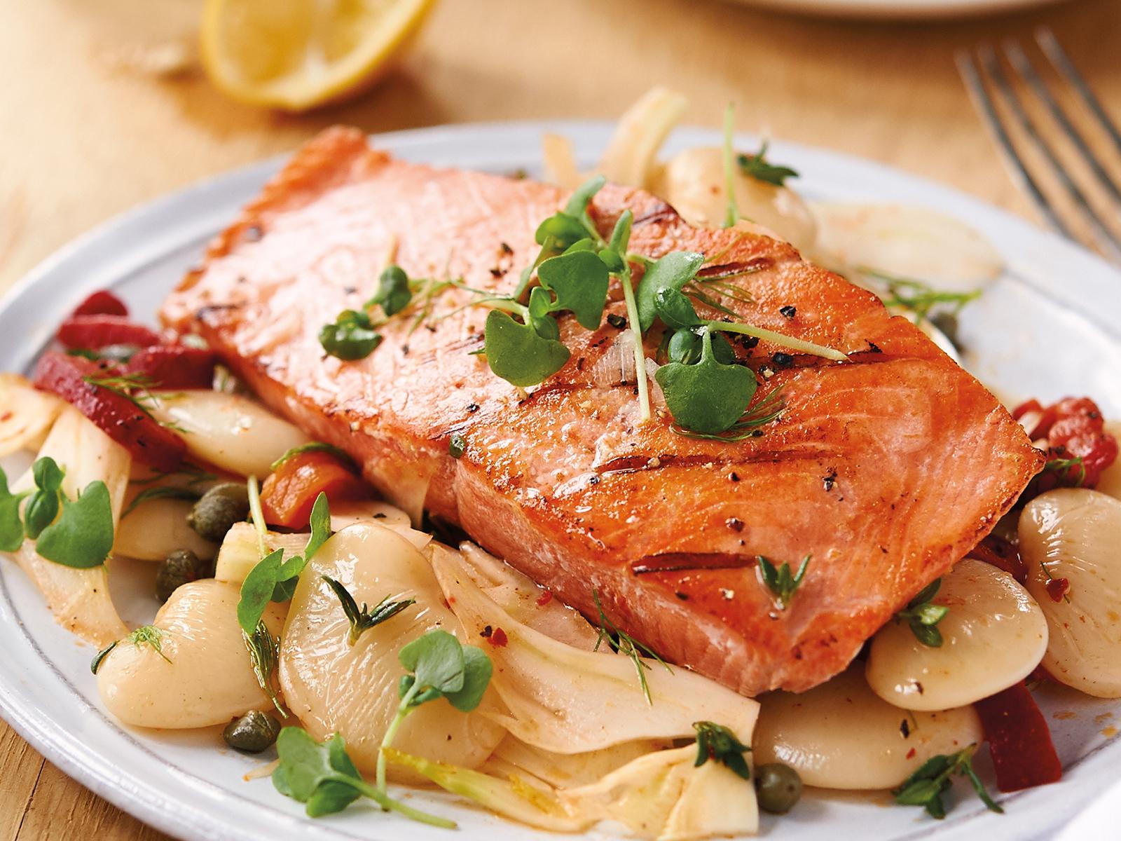 Sockeye Salmon  8 oz, Skinless, PBO, Vac Pac (1/10 lb) 450185