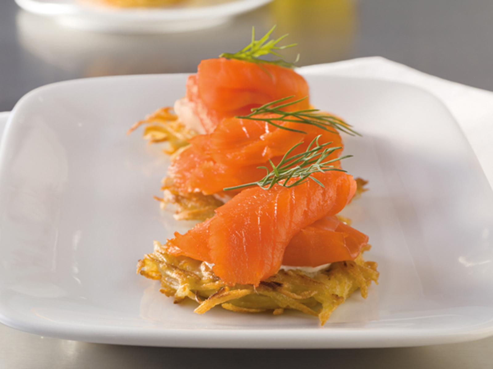 Portlock® Smoked Sockeye Salmon (Nova Style) - Sliced 1 lb Fillet 107035