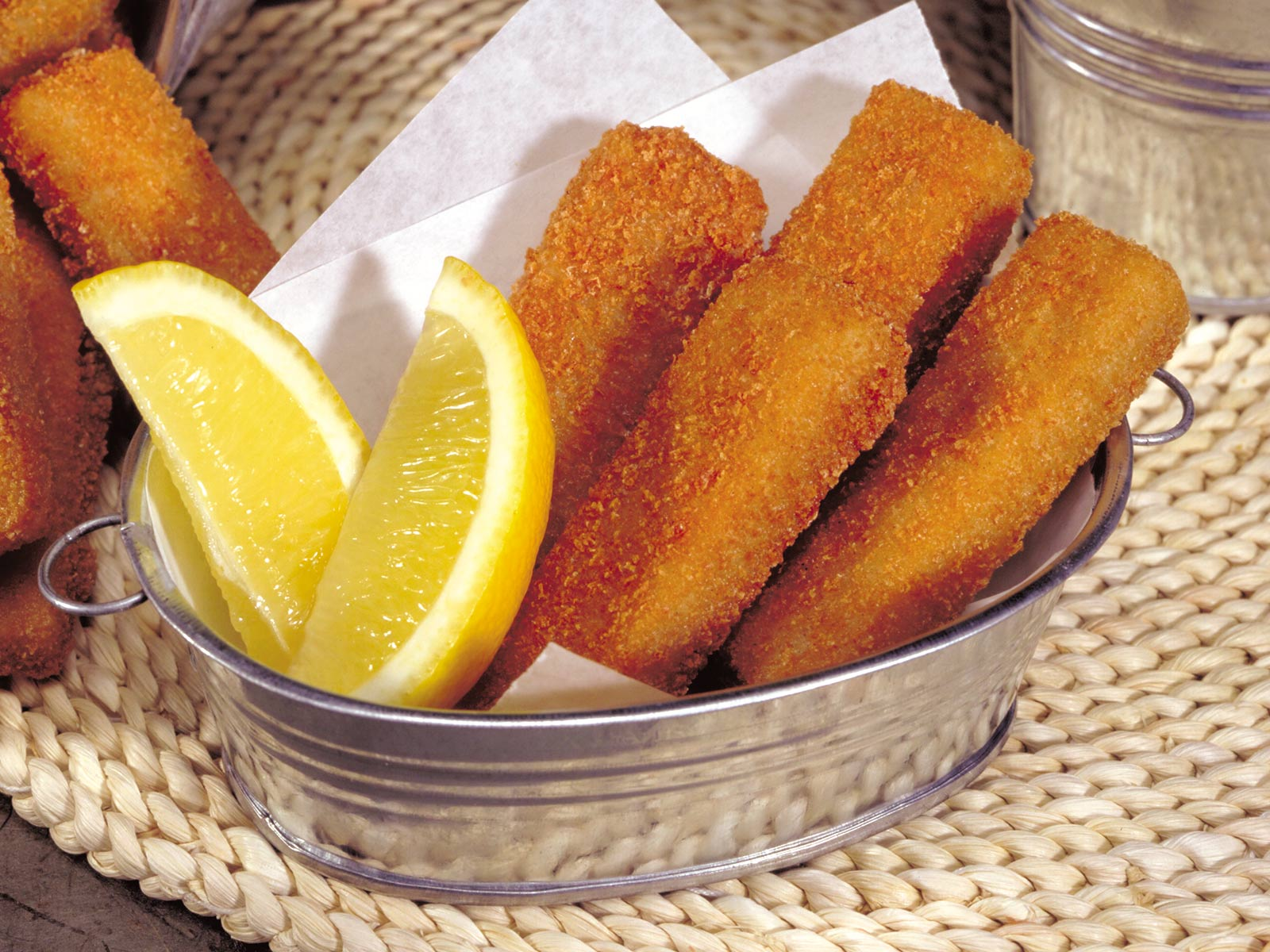 Value Fish Breaded Wild Alaska Pollock Fish Finger Portion 1 oz Oven Ready 449248