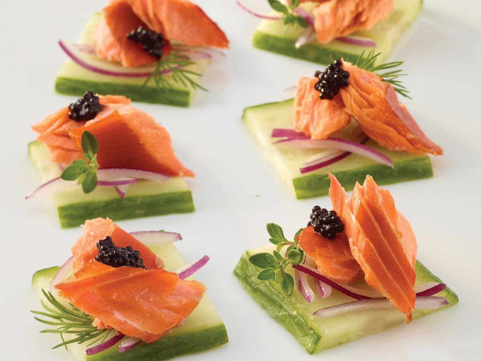 Trident Seafoods® Smoked Sockeye Salmon - Traditional 4 oz