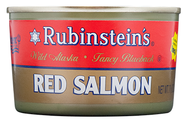 Rubinstein's® Red (Sockeye) Salmon 24/7.5 oz