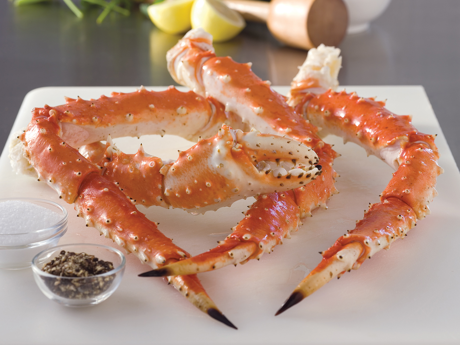 "Red King Crab Legs & Claws 9-12 Count, Grade ""A"" Equiv (1/20) 400020"