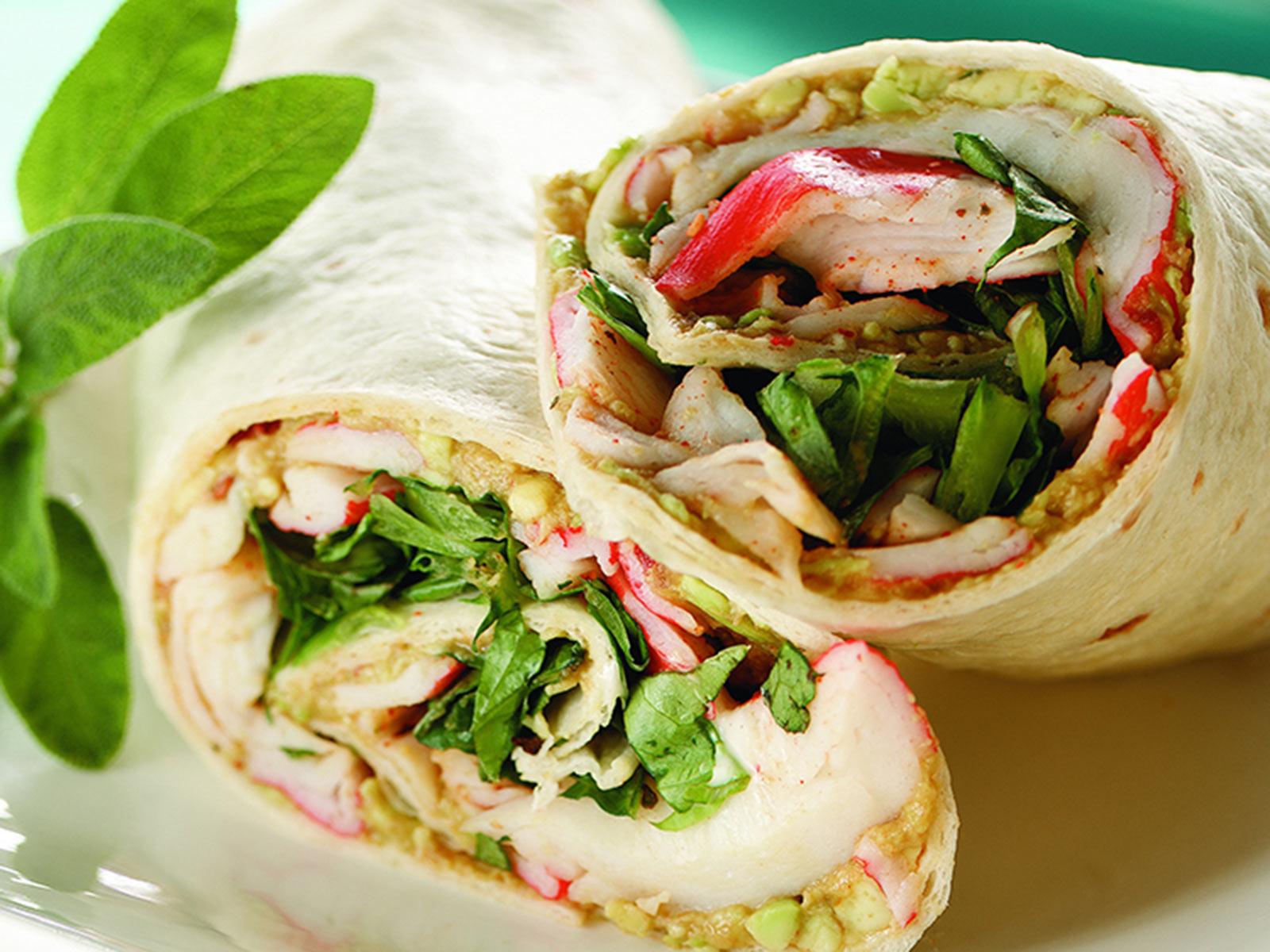 Seafood Tortilla Wrap