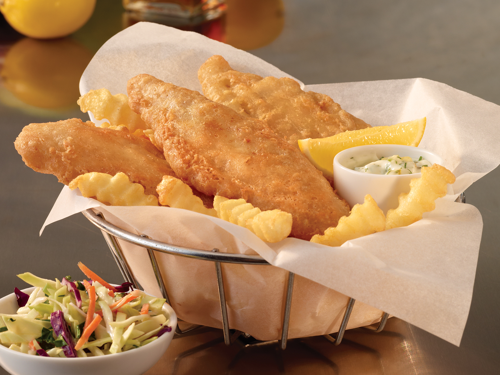 PubHouse® Golden Ale Beer Battered Pollock 8oz (1-10 lb) 418447