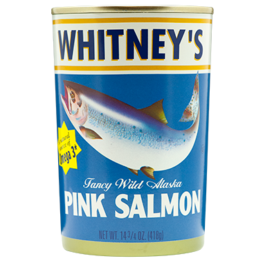 Whitney's® Pink Salmon 24/14.75 oz
