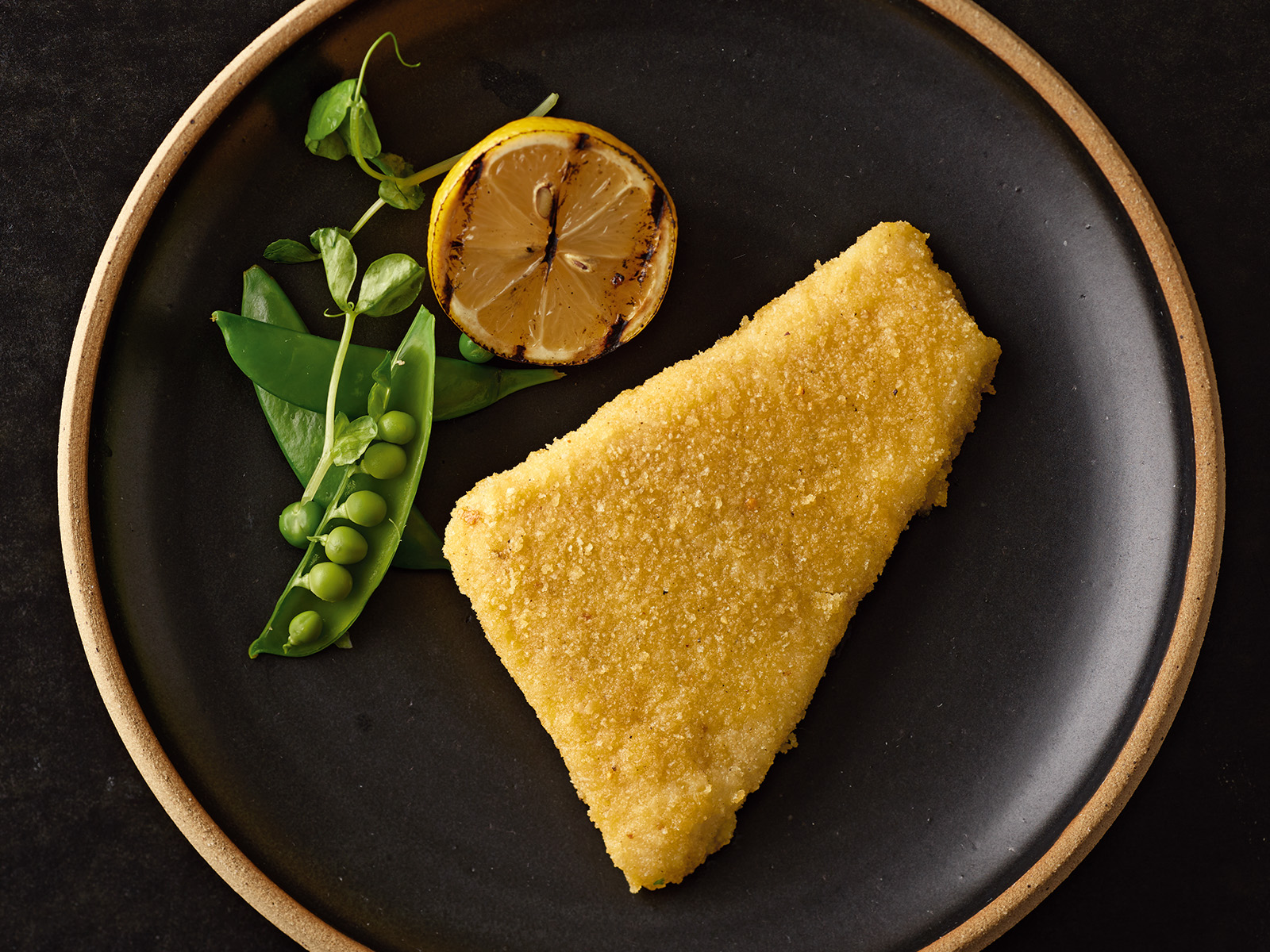 Lemon Butter Breaded Wild Alaska Pollock 4 oz Oven Ready 426075
