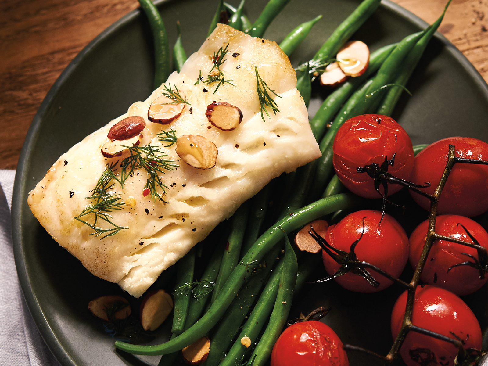 Alaska Cod Loin Portions 3 oz (1/10 lb) 414483
