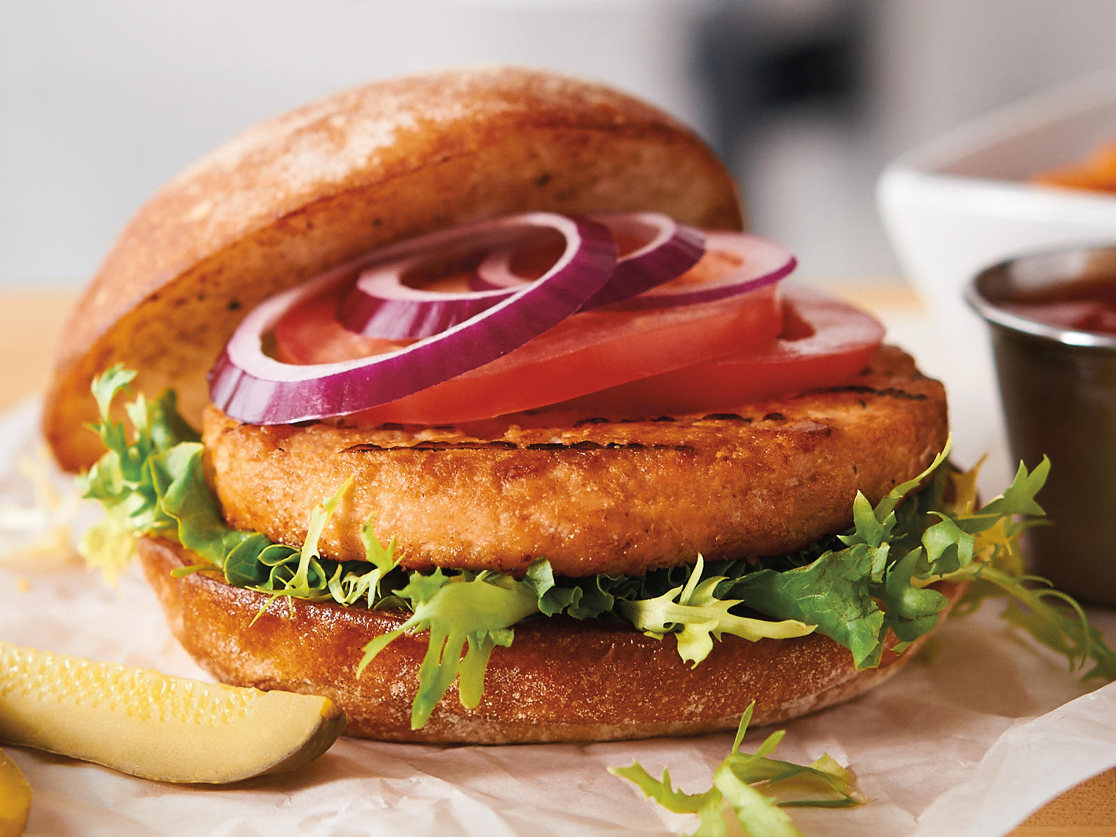 Alaskan Salmon Burger 4 oz (12/3lb) 417838