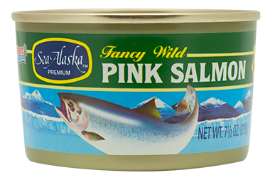 Sea Alaska® Pink Salmon 24/7.5 oz
