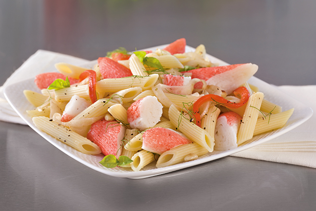 SEA LEGS® Supreme Salad Style Surimi (4/2.5 lbs.) 412027