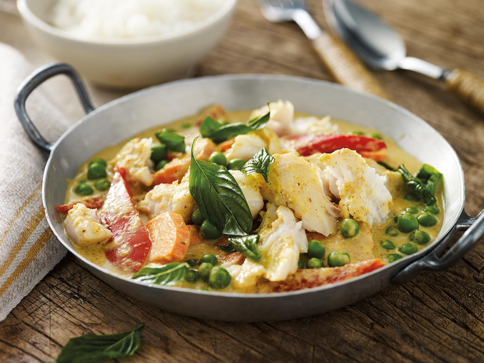 Wild Alaska Pollock Coconut Curry