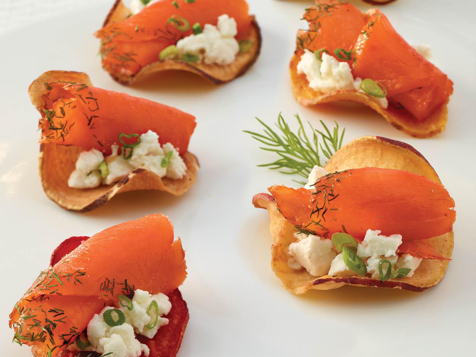 Trident Seafoods® Smoked Sockeye Salmon - Smoky Dill 4 oz