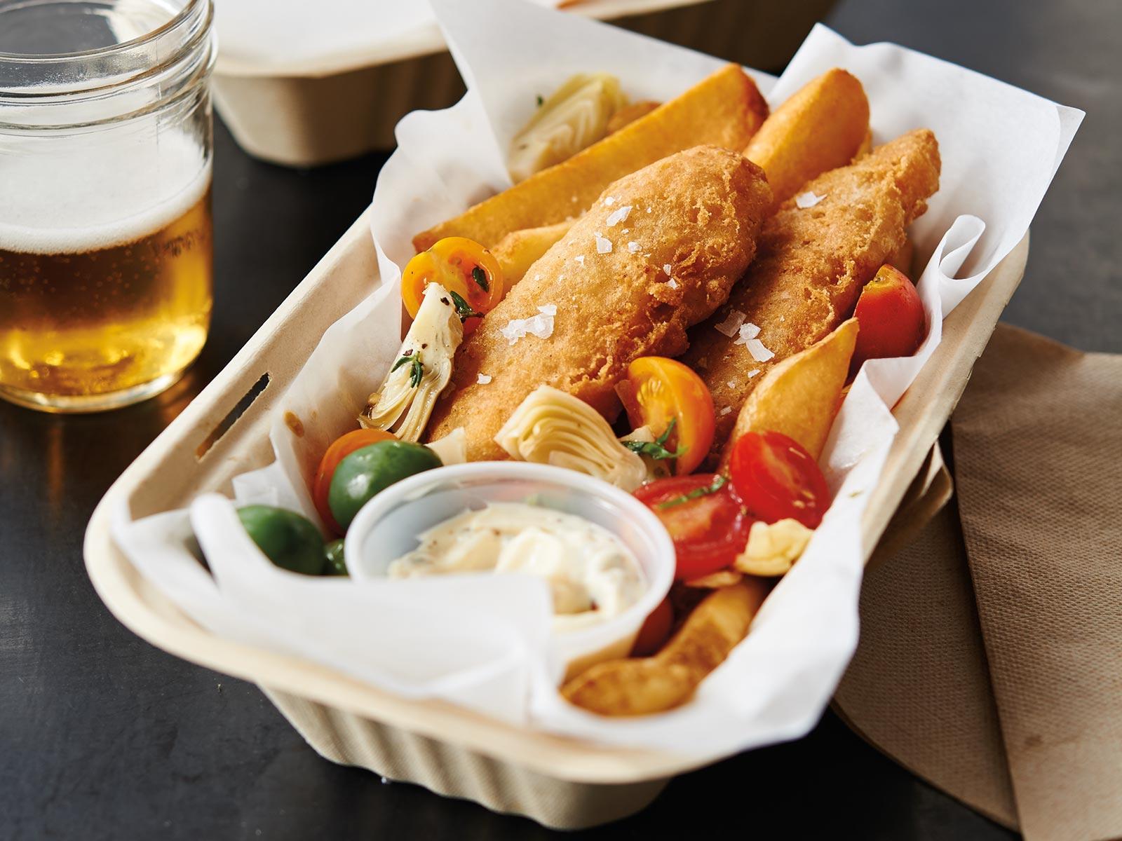 Fish & Potatoes Napoli