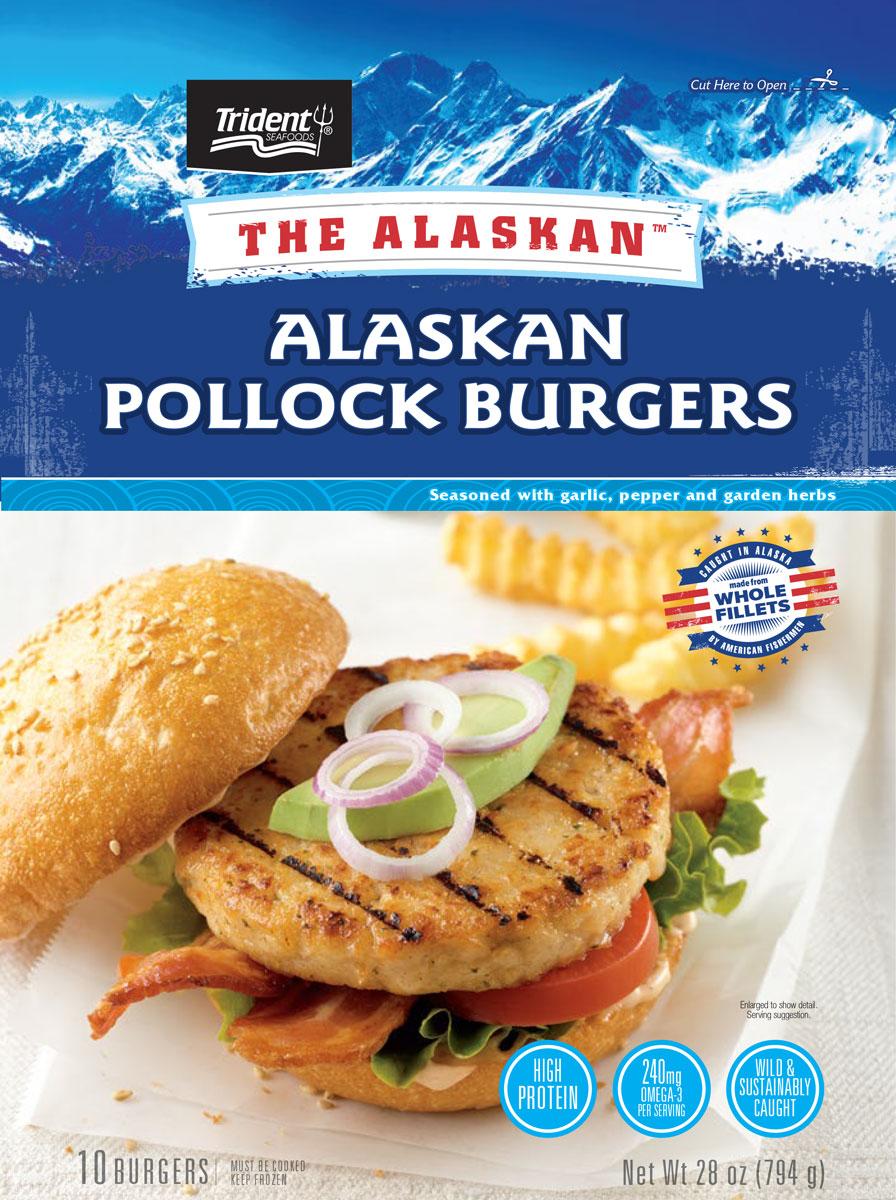 The Alaskan™ Alaskan Pollock Burgers 1.75 lb