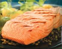 Sockeye Salmon Vac Pac - Skin On, PBO 8oz (1/10 lb) 410022