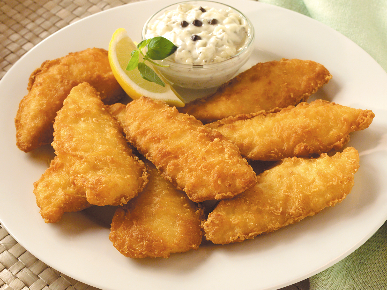PubHouse® Battered Rockfish 1-2 oz (1/10 lb) 418860
