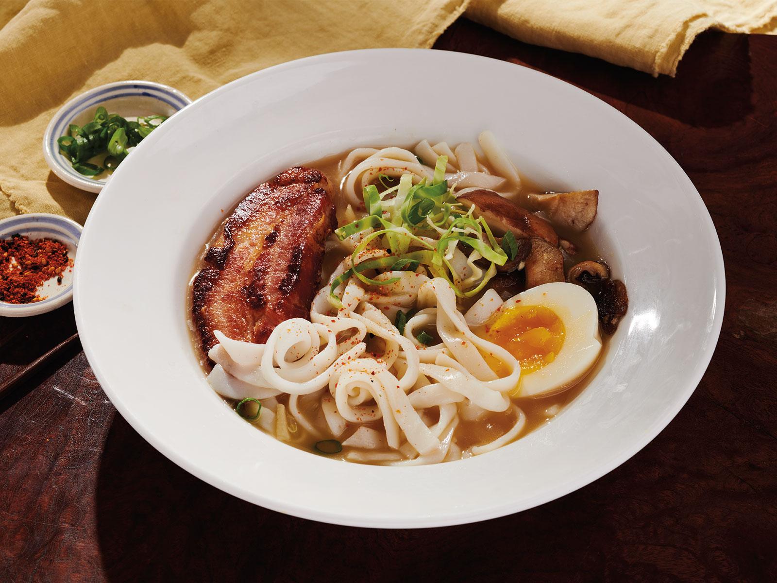 Protein Noodles Ramen Bowl