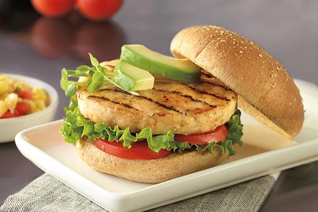 Wild Alaska Pollock Burger 2.8 oz CN, IQF 422147