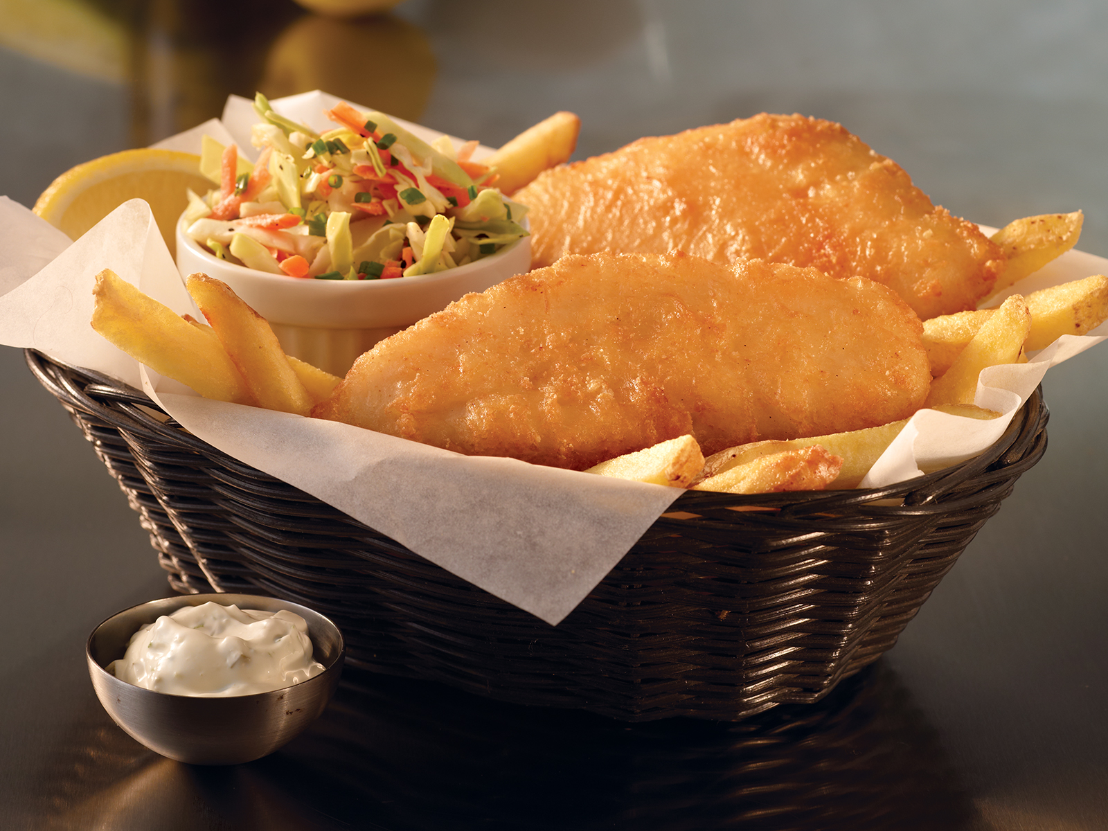 PubHouse® Battered Cod 2-3 oz. (1/10 lb) 491152