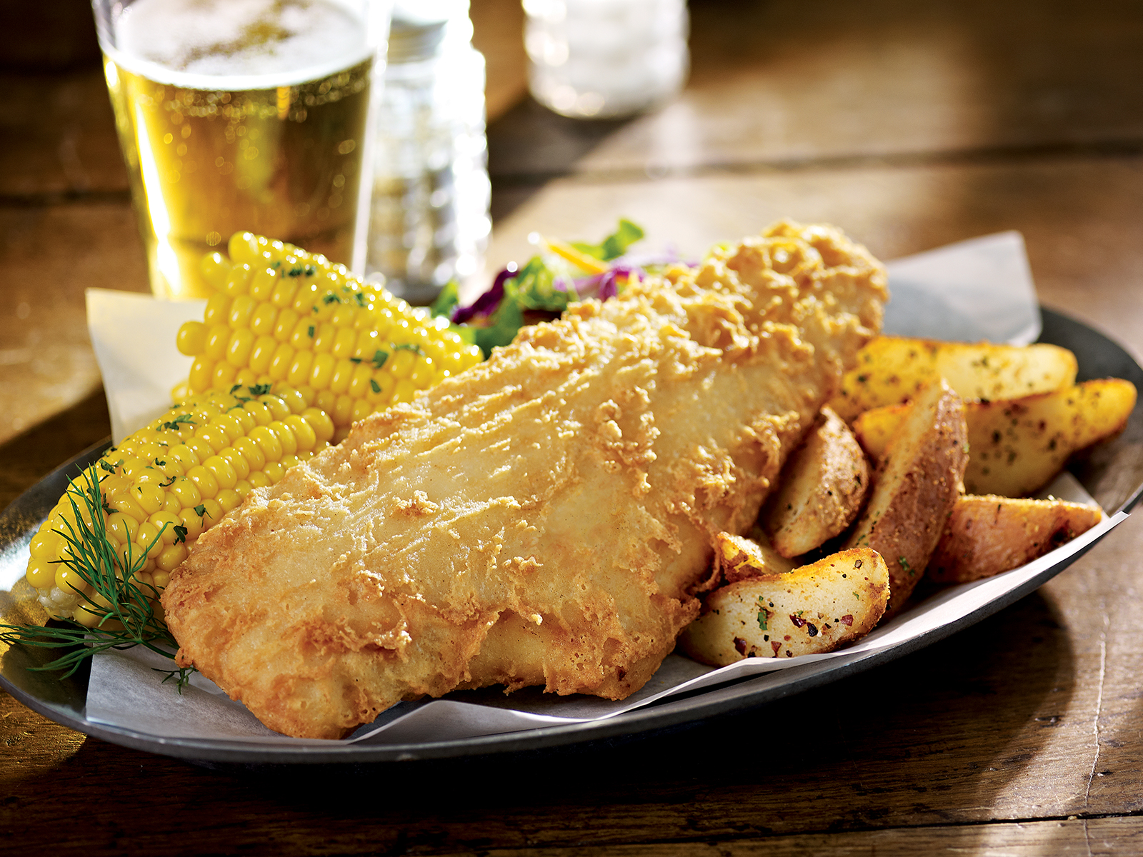 PubHouse® Golden Ale Beer Battered Haddock 8.5oz (1-10 lb) 418451
