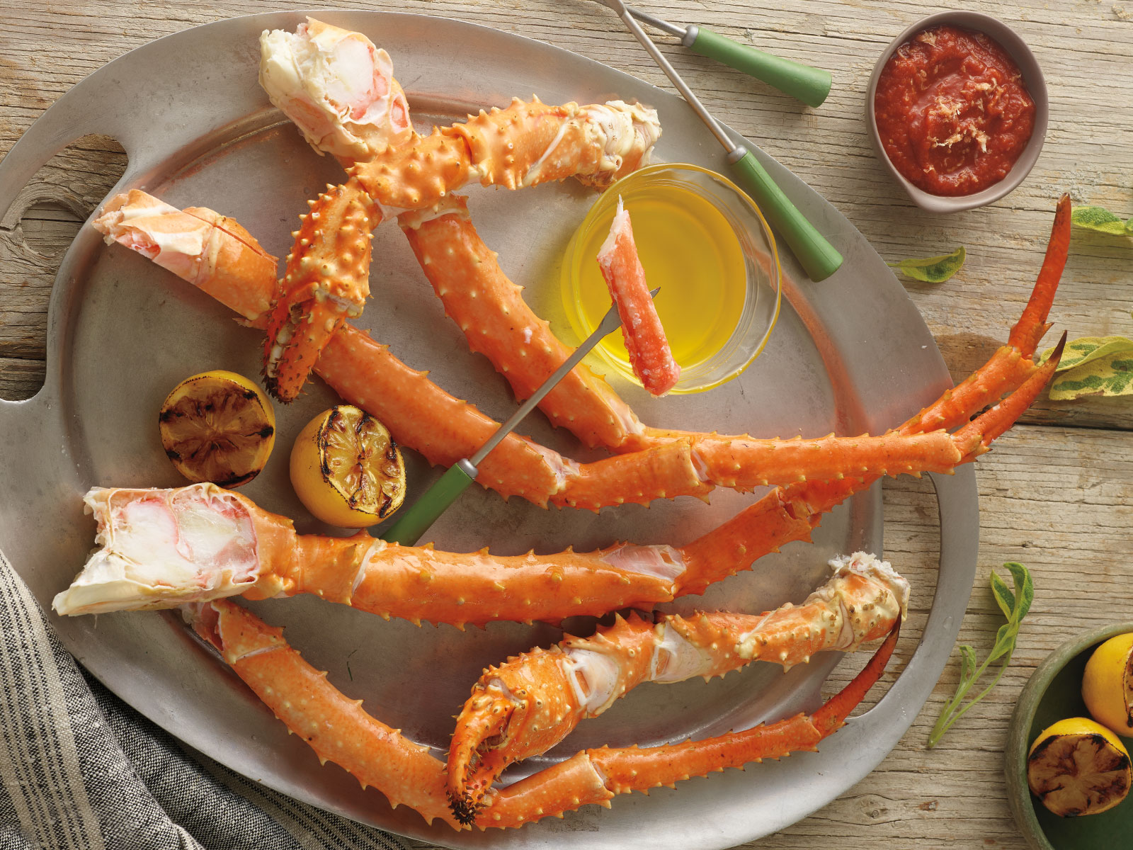 Golden King Crab Legs & Claws 9-12 Count 477826