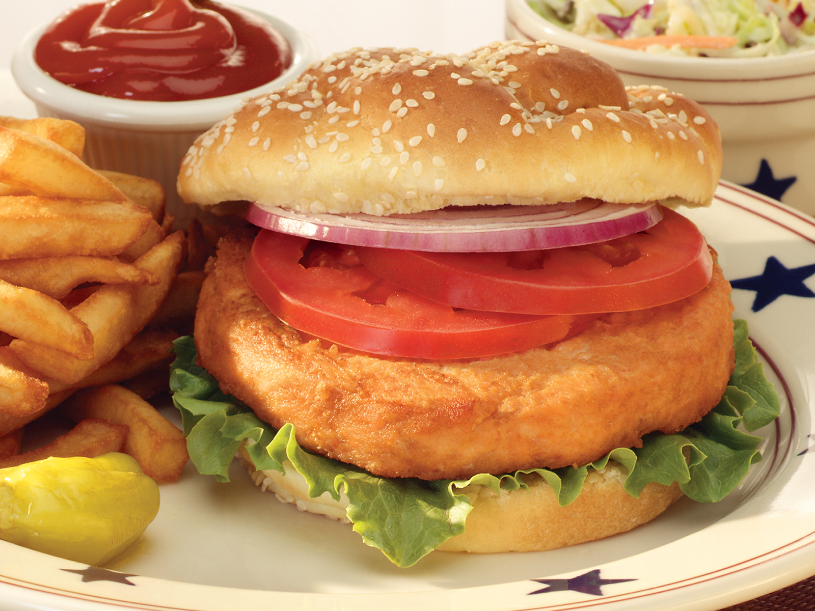 Alaskan Salmon Burger 7.5 oz (1/17 lb) 490174