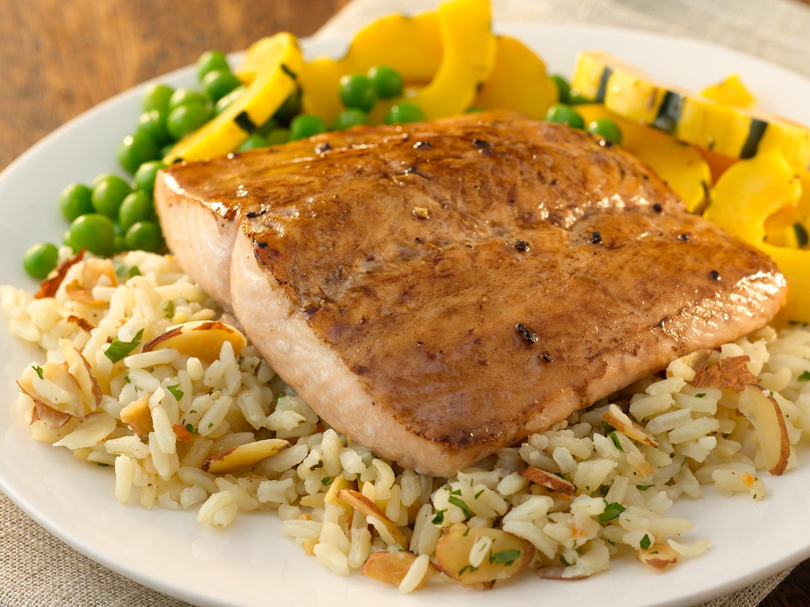 Keta Salmon Premium Portions 8 oz Skls/Bnls/PBO (1/10 lb) 496247