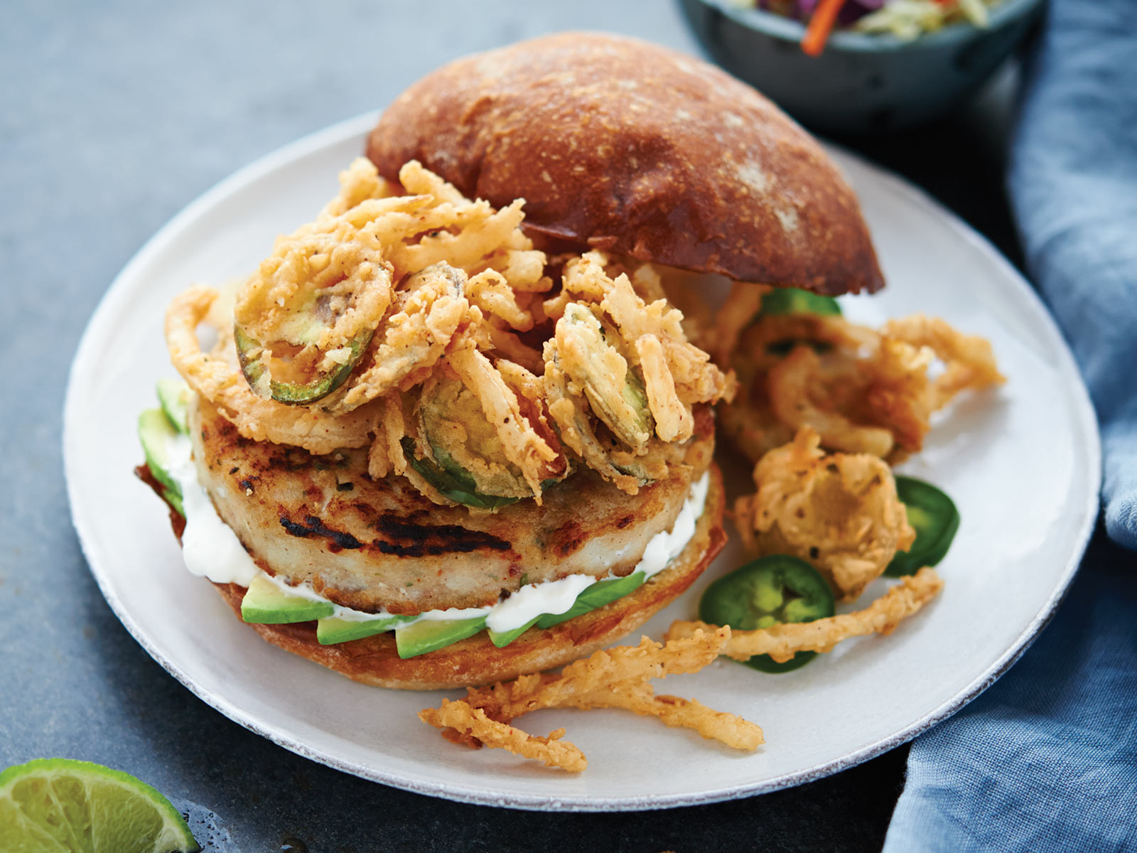 Spicy So-Cal Wild Alaska Pollock Burger