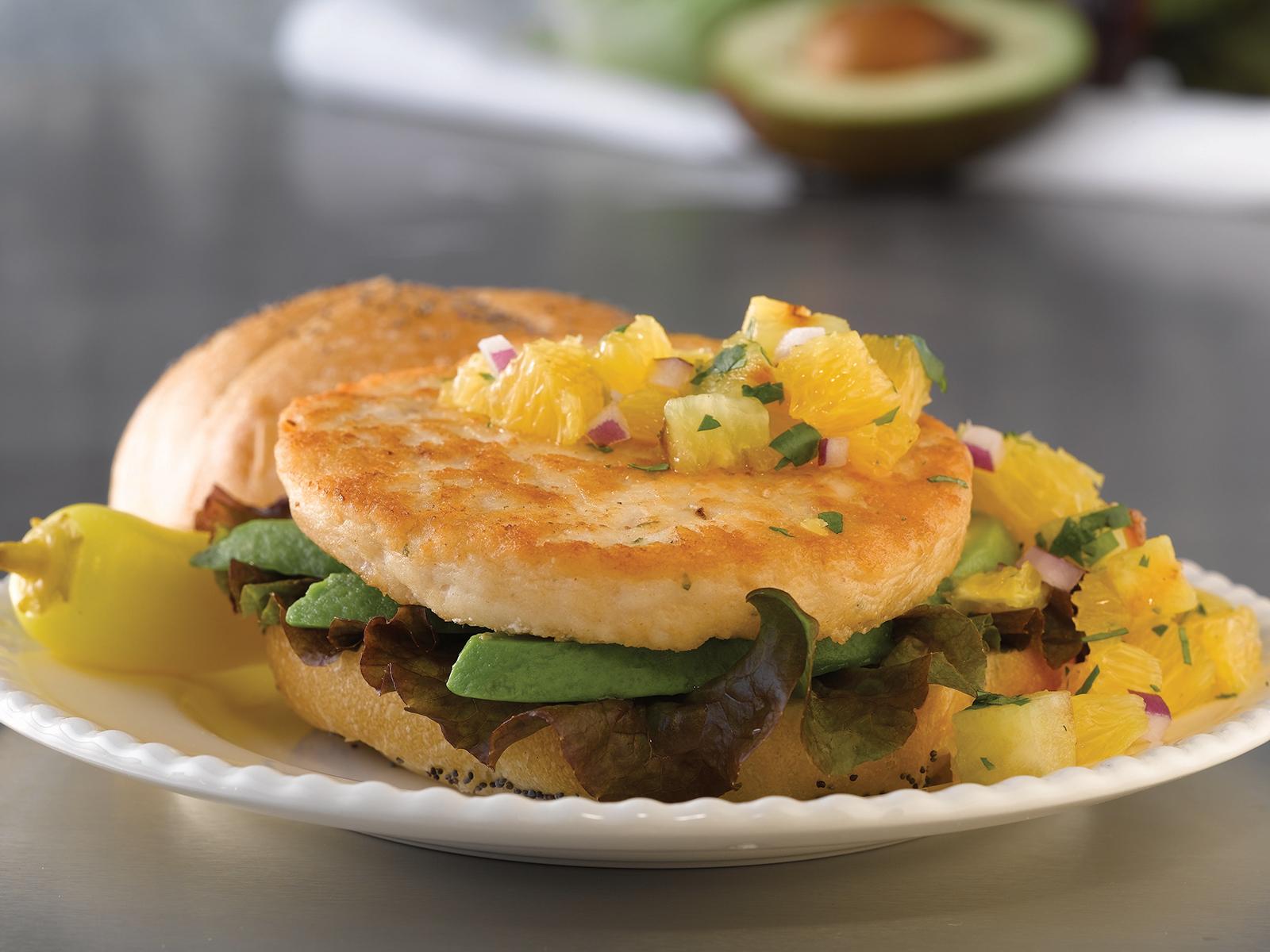 Mahi-Mahi Burger 4oz (1/10lb) 410865