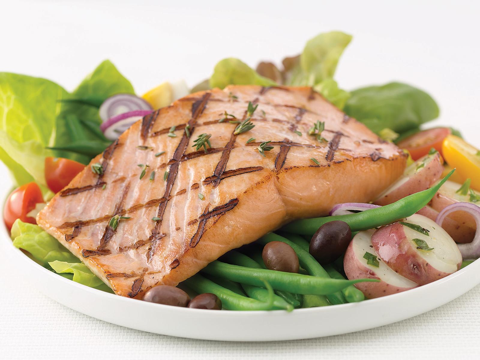 Keta Salmon Premium Portions 4 oz Skls/Bnls/PBO (1/10 lb) 496248