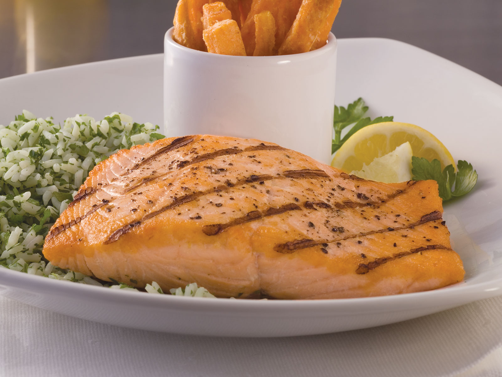 Atlantic Salmon Portions 5oz (1-10LB) 418463