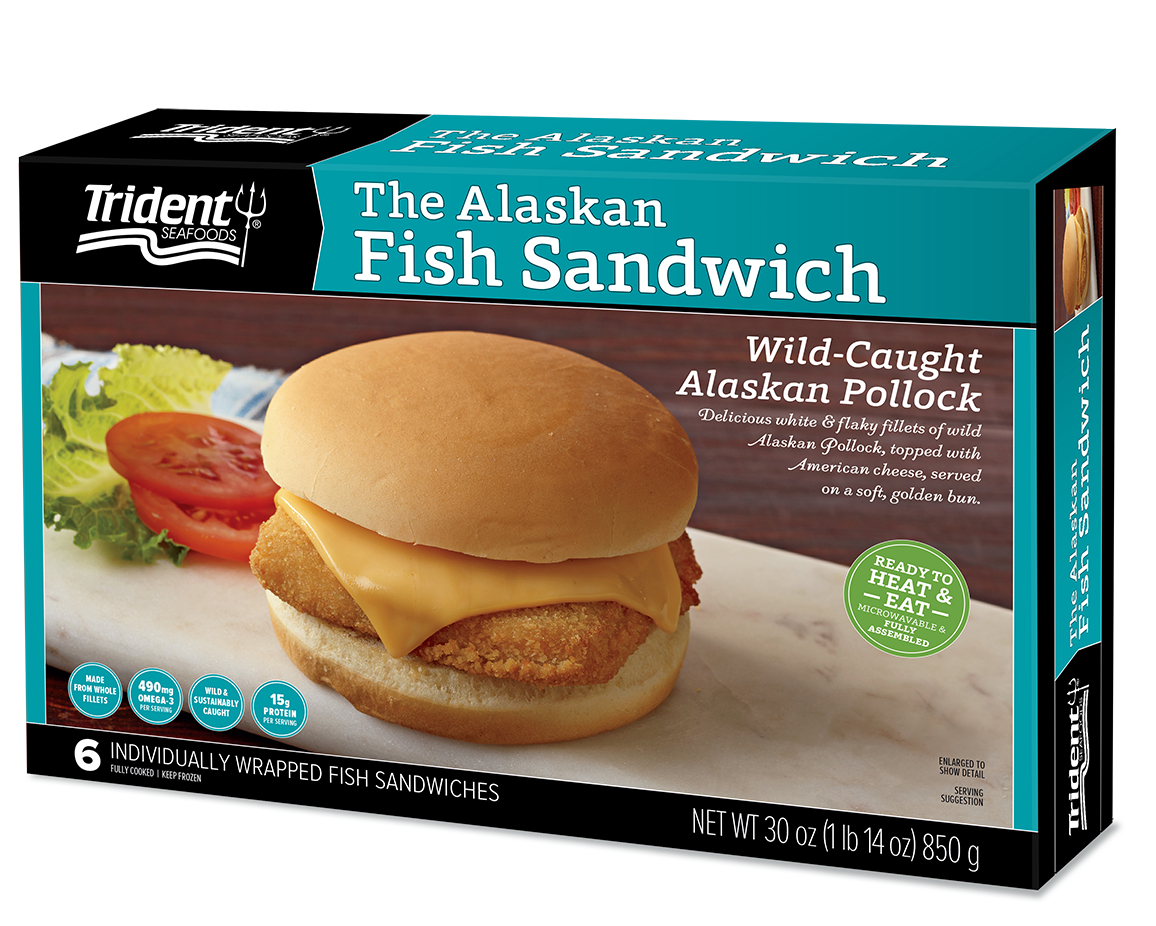 The Wild Alaska Fish Sandwich (Heat & Eat) 1 lb 14 oz