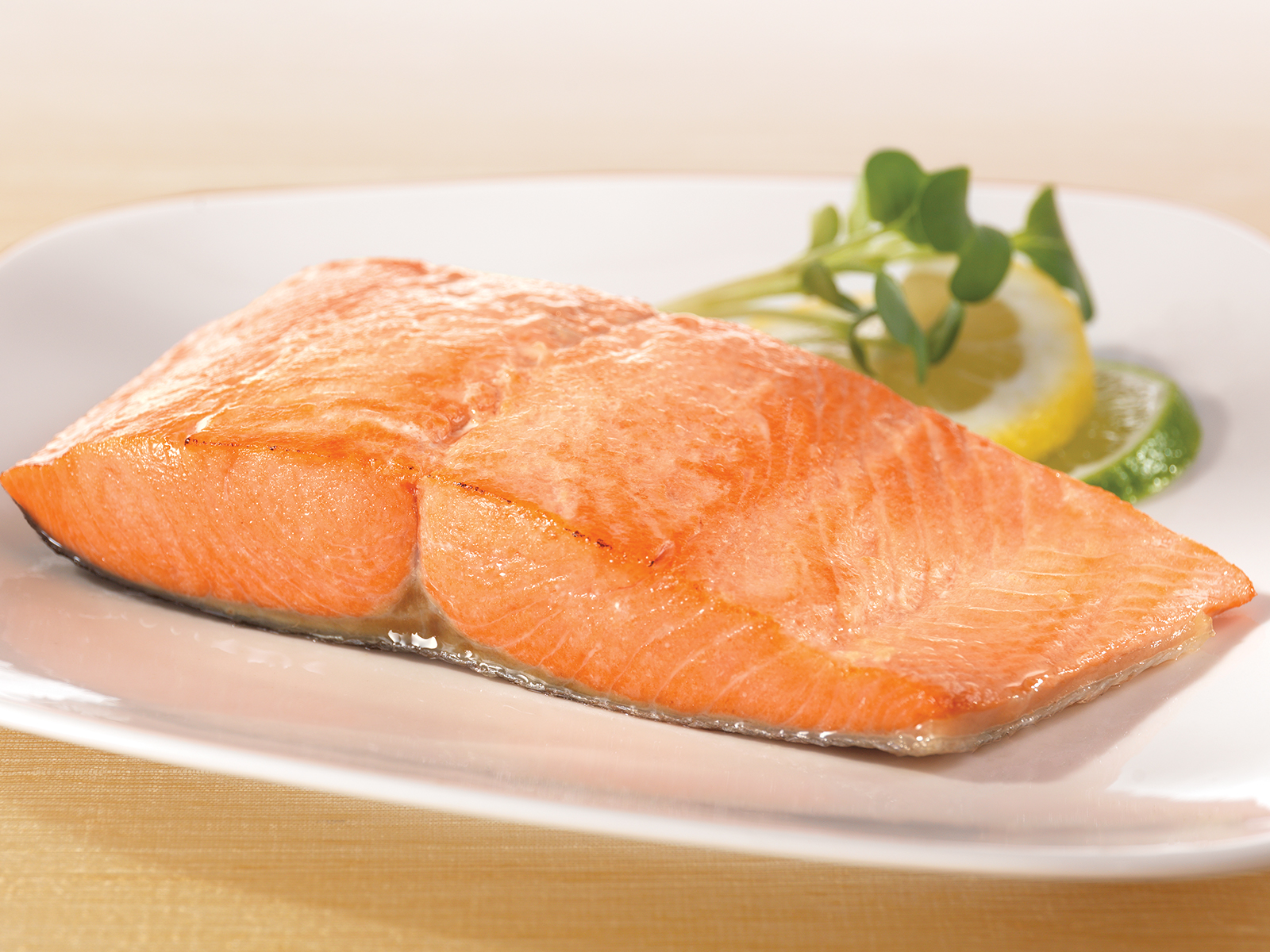 Coho Salmon Portions 8 oz Skin On, Pin Bone Out (1/10 lb) 475378