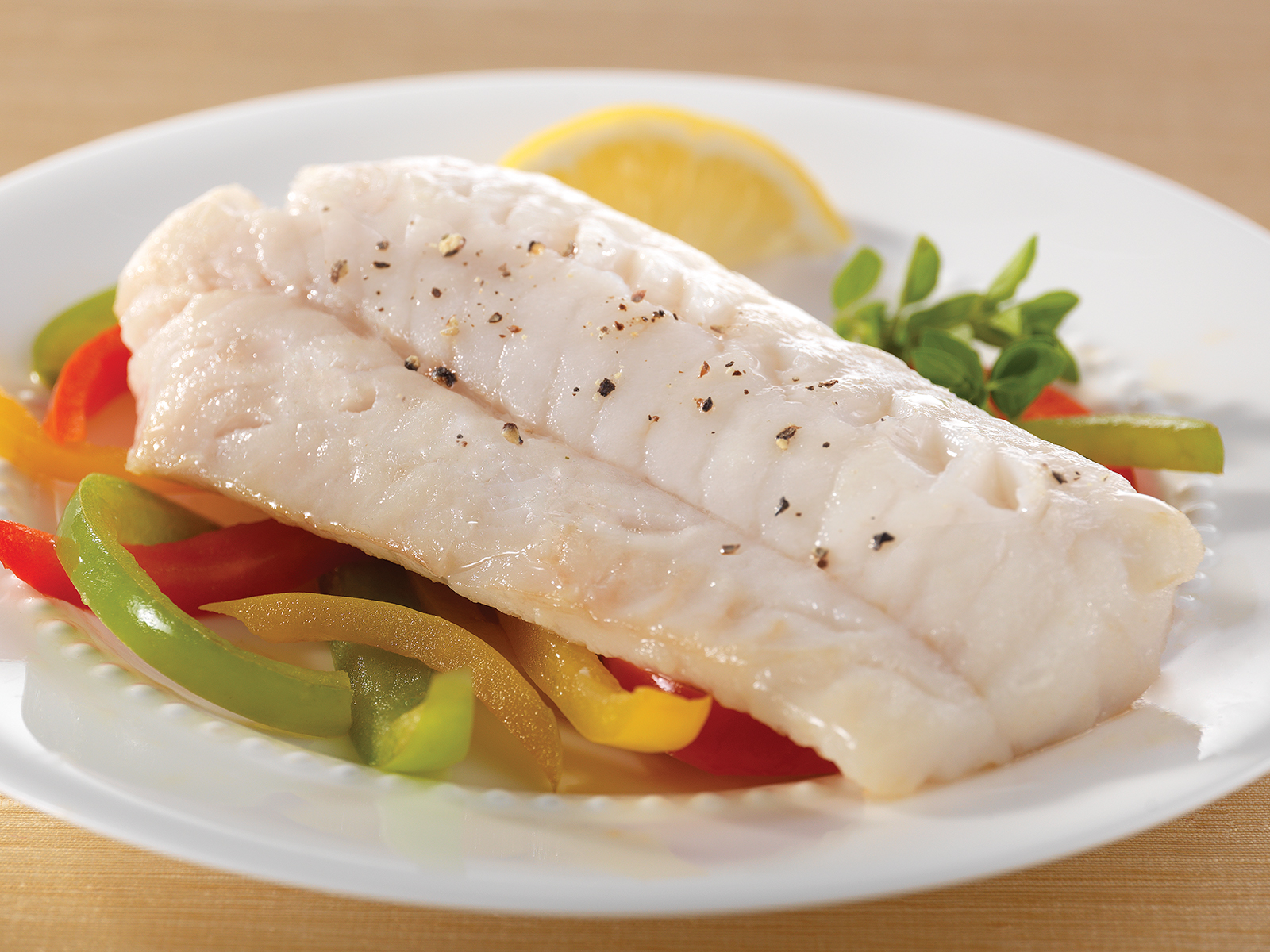 Cod Loin Portions 8 oz IQF, Skinless, Boneless (1/10 lb) 410379