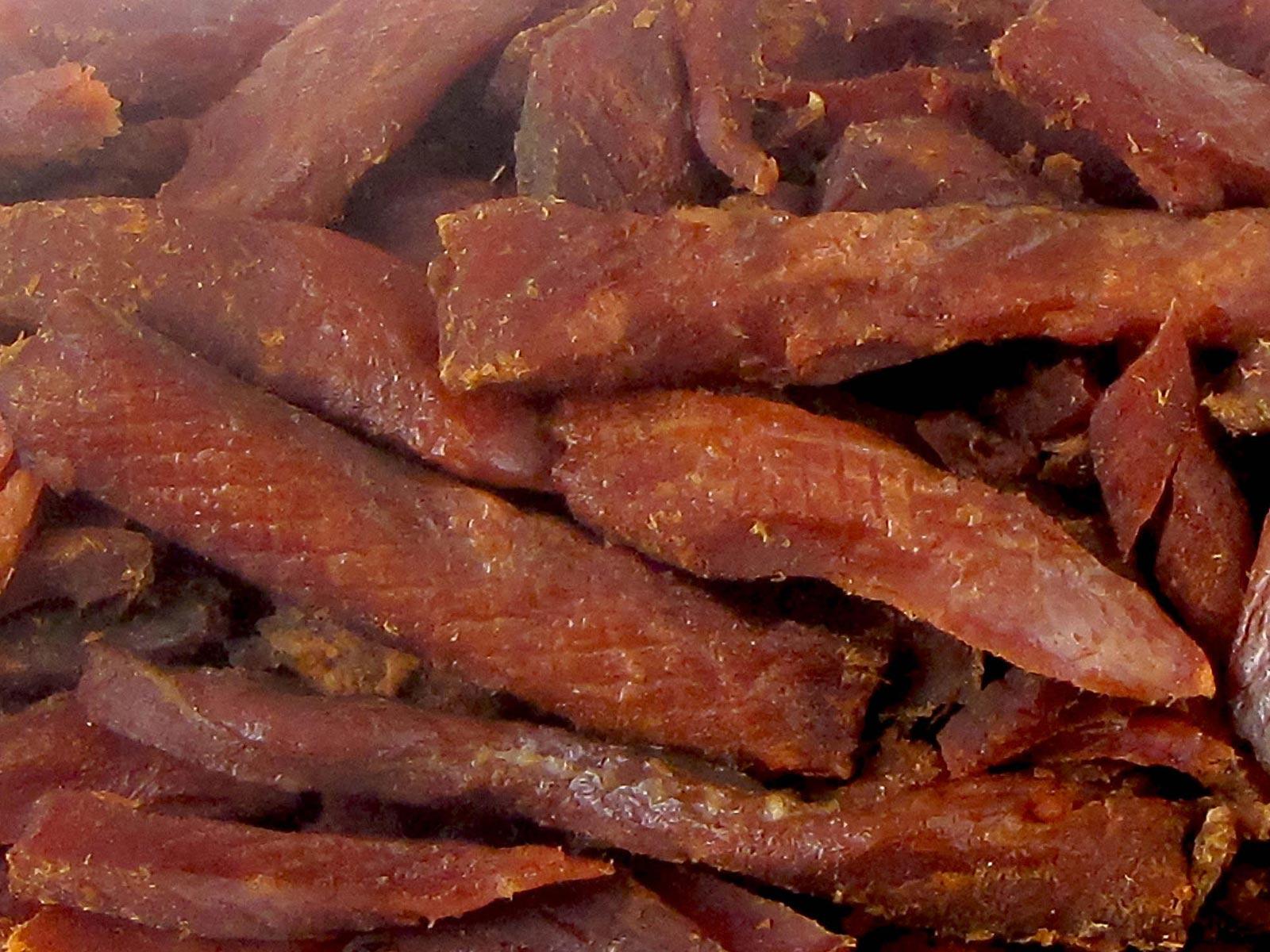 Trident Seafoods® Wild Alaskan Smoked Sockeye Salmon Jerky 8oz