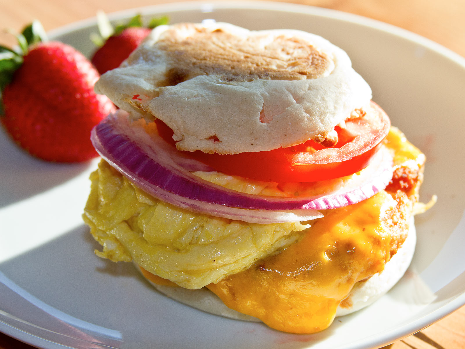 The Big Salmon Breakfast Sandwich