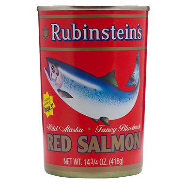 Rubinstein's® Red (Sockeye) Salmon 12/14.75 oz
