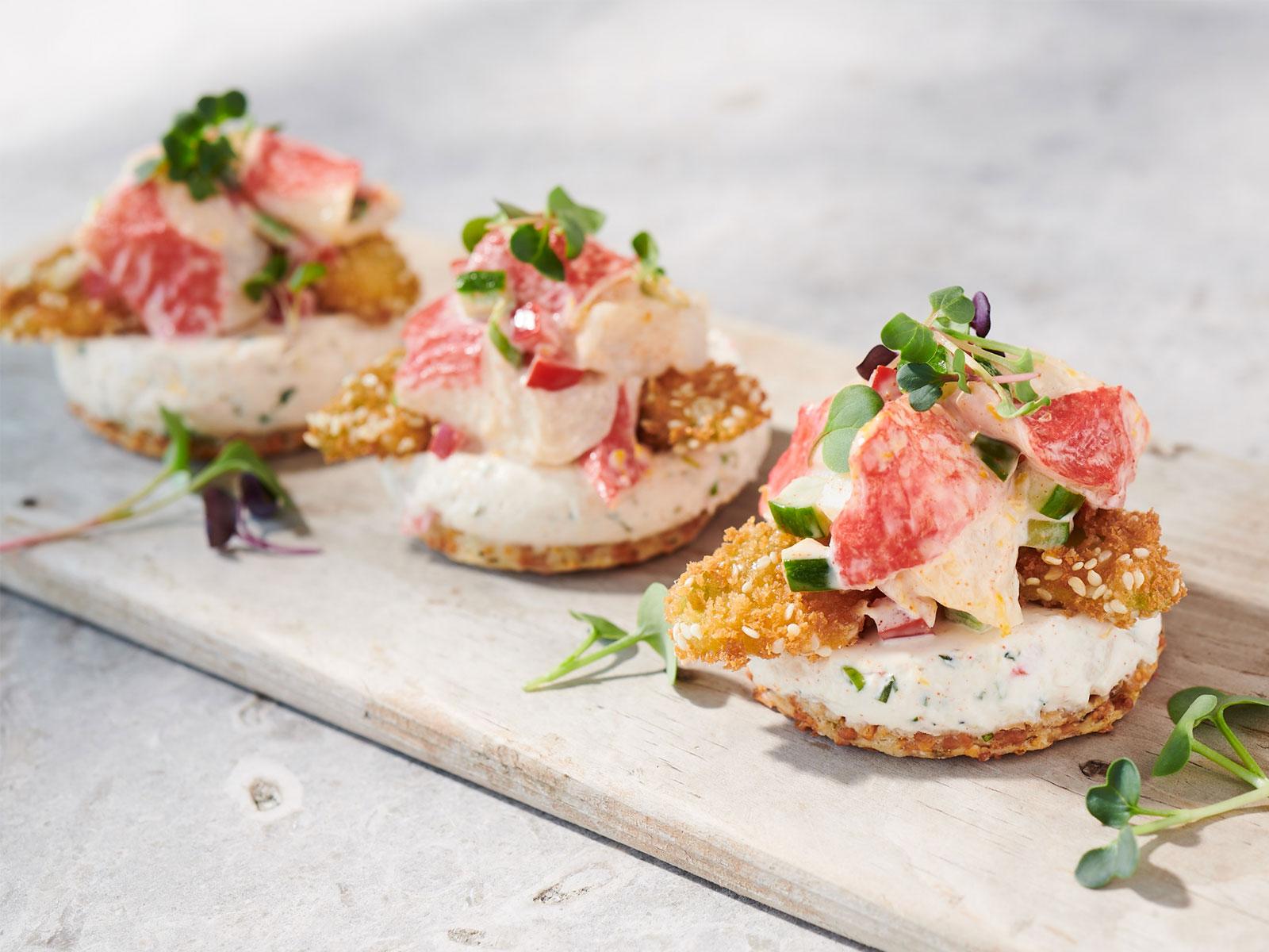 Seafood Panna Cotta