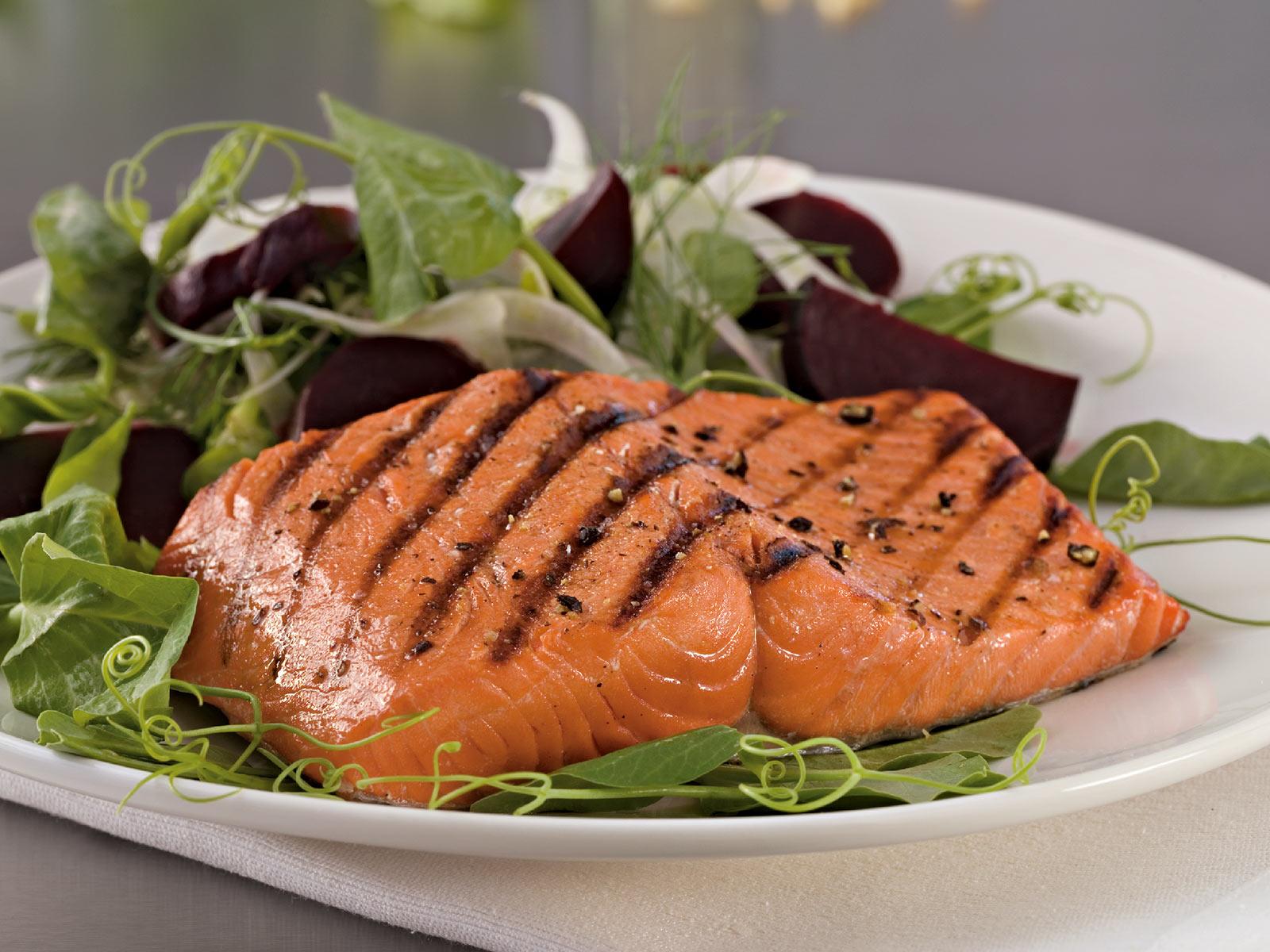 Sockeye Salmon Vac Pac - Skinless, PBO 6oz (1/10 lb) 408910